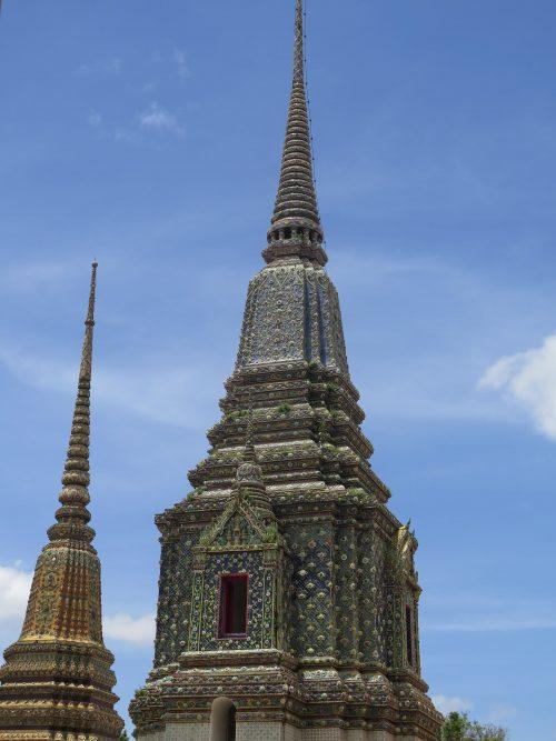 Ornamentación tejados típicos de Tailandia