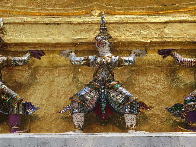 Esculturas Palacio Real Bangkok