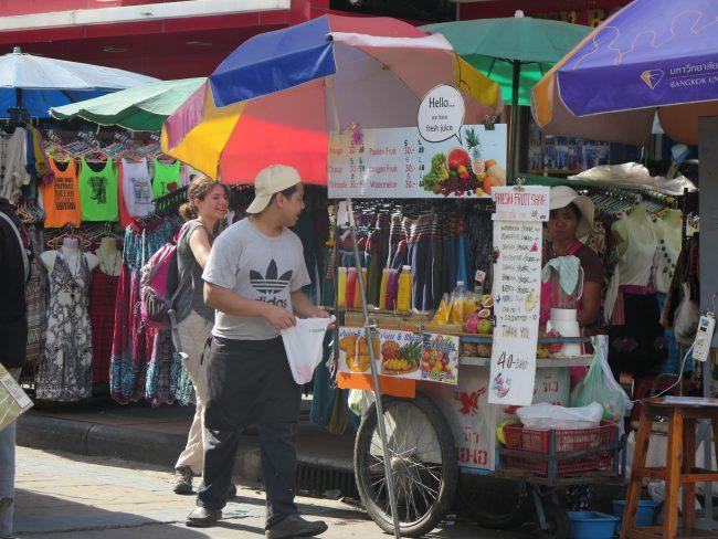 Alojarse en Khao San Road