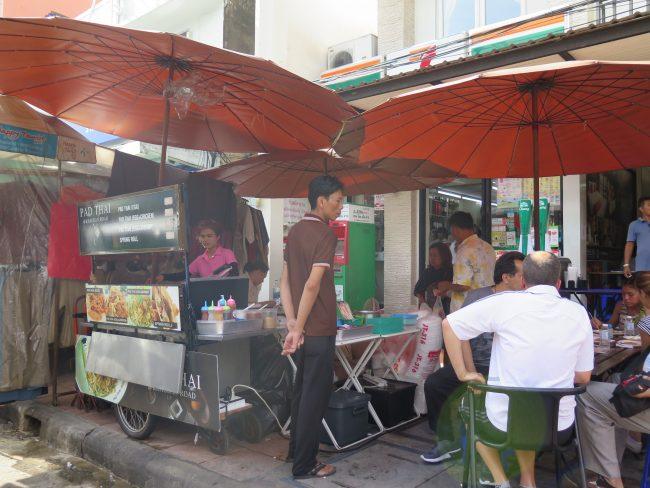 LO que puedes encontrar en Khao Snan Road