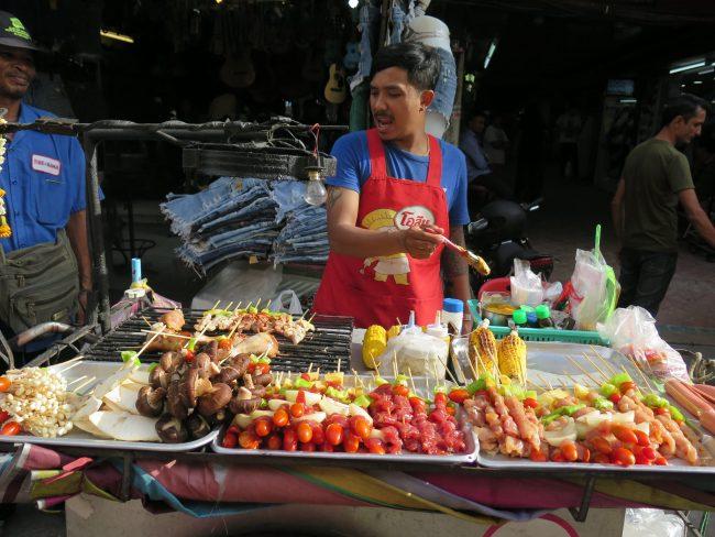 La zona de mochileros de Bangkok