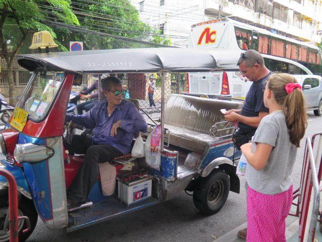 Tuk tuks de Bangkok