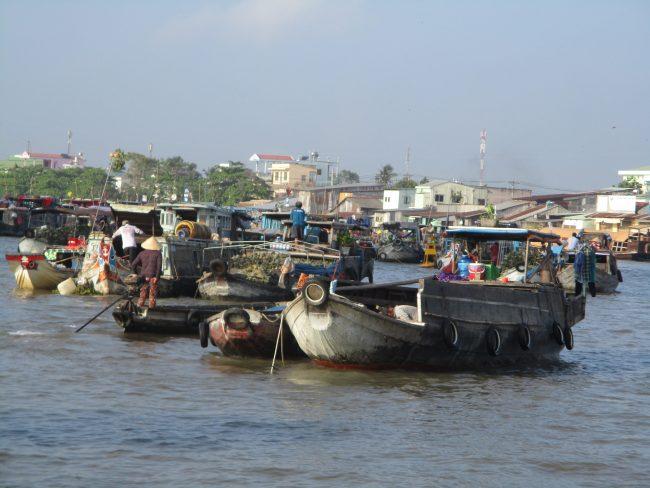 Mercado Flotante de Cai Rang