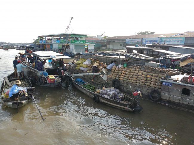 Mercado Flotante de Cai Be