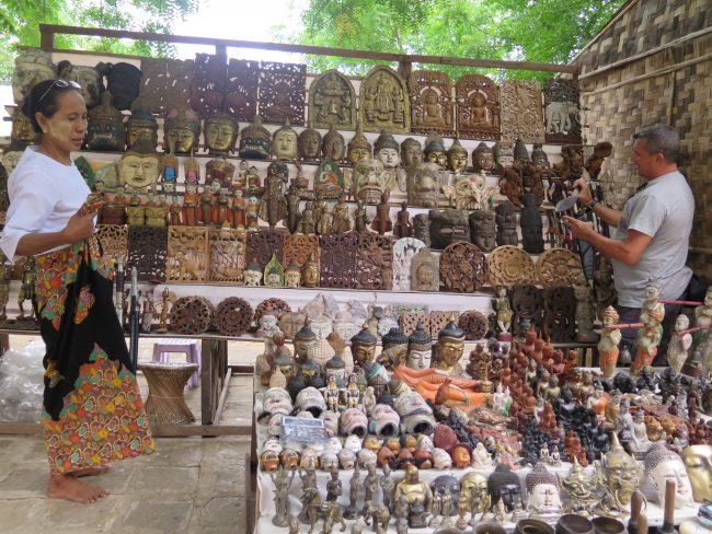 Restricciones a la exportación de souvenirs en Myanmar