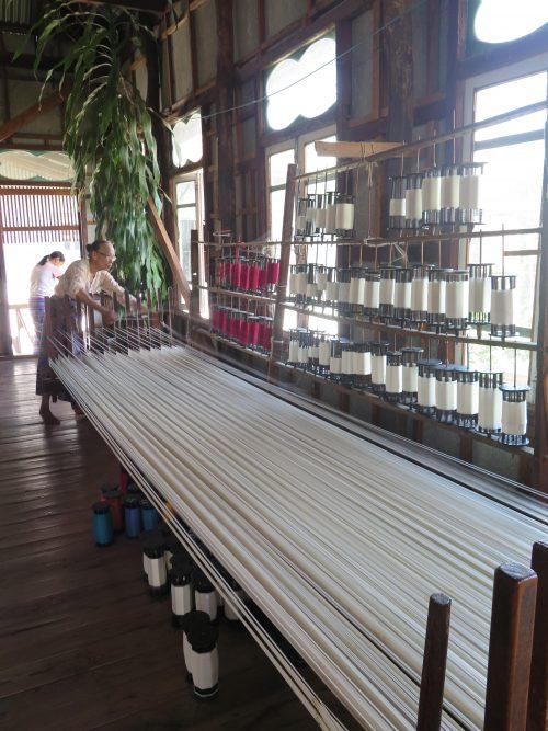 Dónde comprar las mejores telas de Myanmar