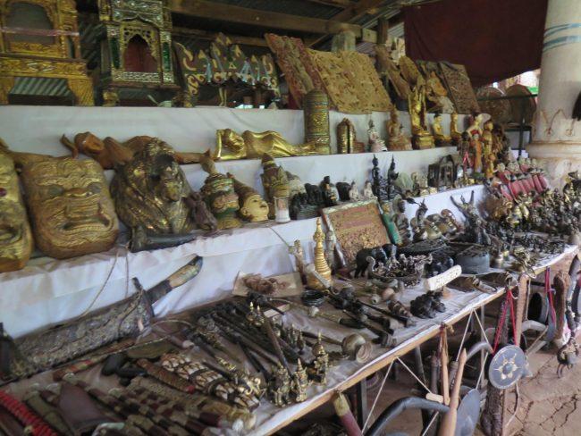 Myanmar de compras