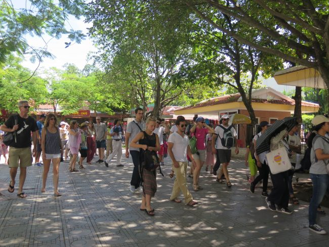 Masificación turística en Vietnam
