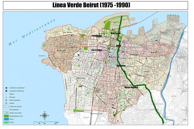 Línea de Demarcación en Beirut