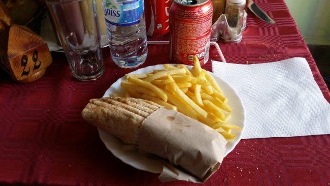 Comida rápida en los países árabes