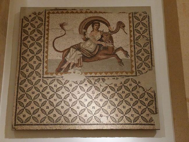 Mosaicos Museo Nacional de Beirut