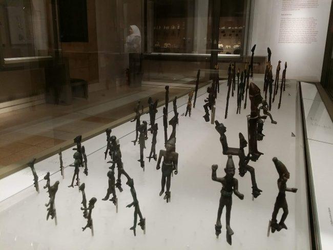 Figuritas fenicias de bronce de Líbano
