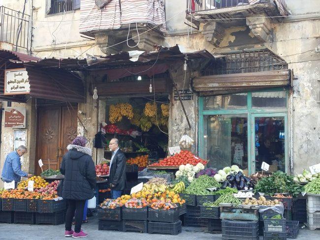 Tiendas típicas de Sidón