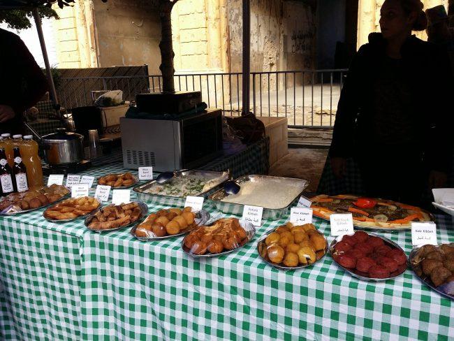 Comida callejera Líbano