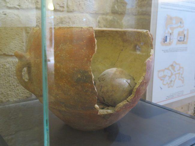 Enterramientos del IV milenio a.C.