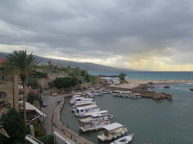 Puerto de moda en Líbano