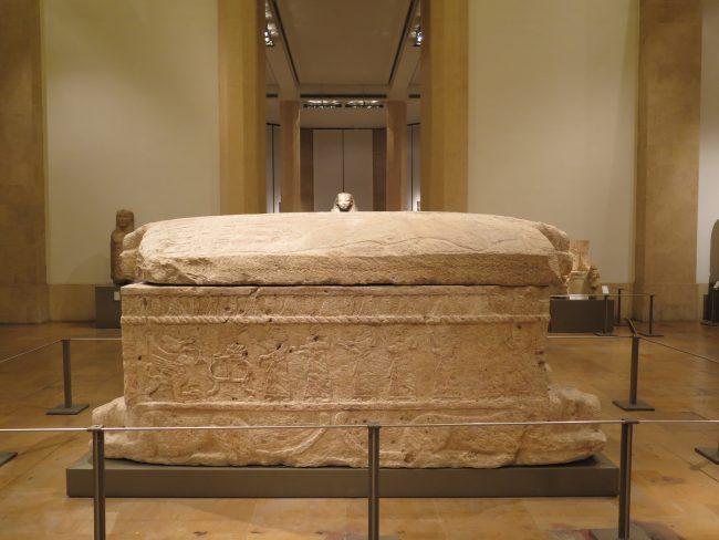 Primera inscripción fenicia de la Historia