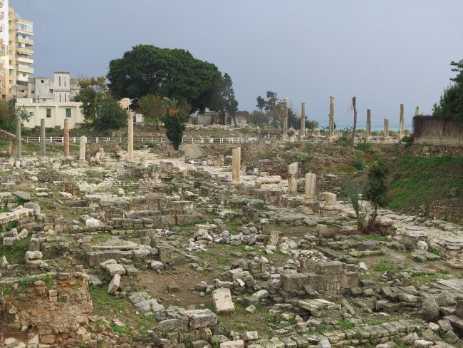 Lugares arqueológicos de Tiro