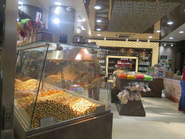 Frutos secos y dulces típicos de Líbano