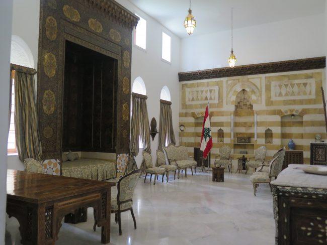 Aposentos del Palacio de un Emir