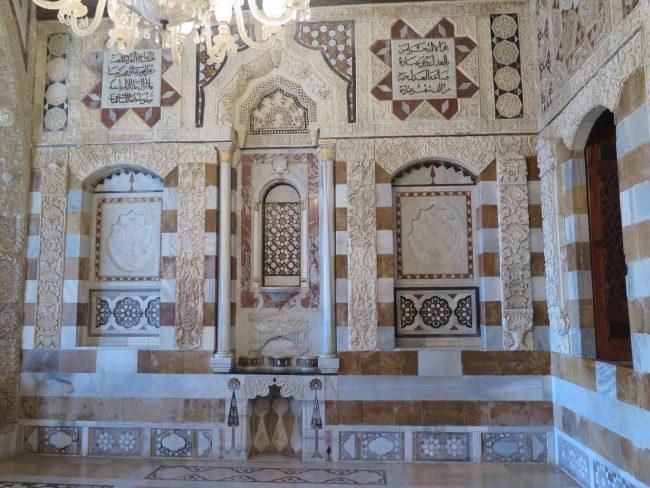Interior del Palacio de Beiteddine