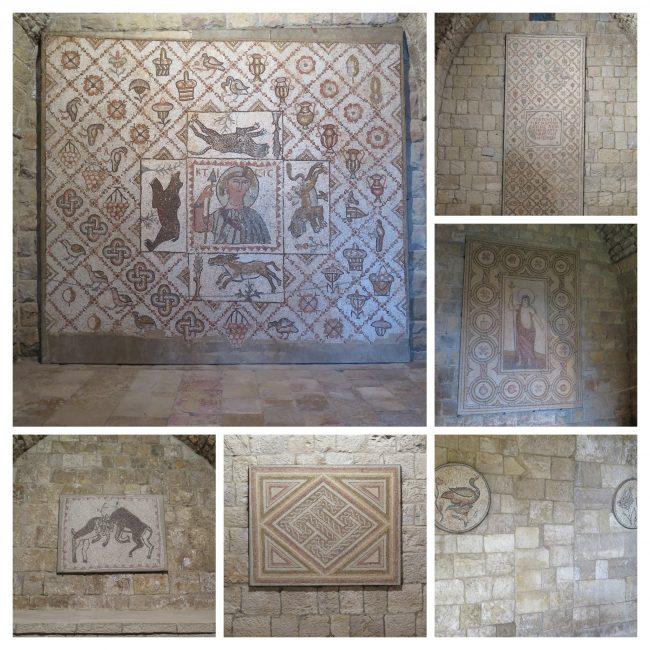 Impresionantes mosaicos bizantinos de Sidón