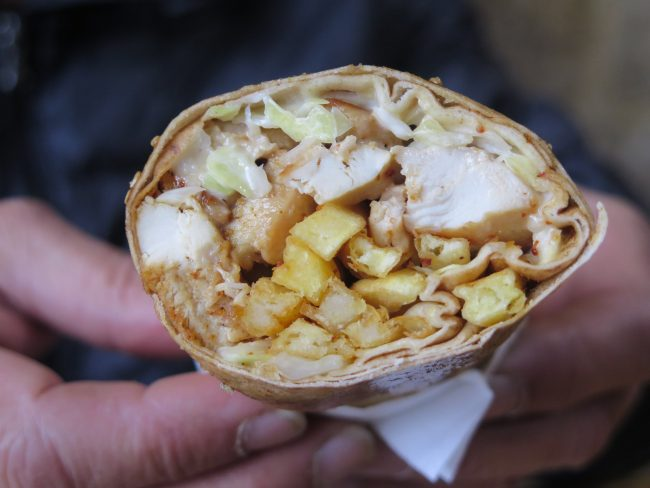 Qué es un shawarma