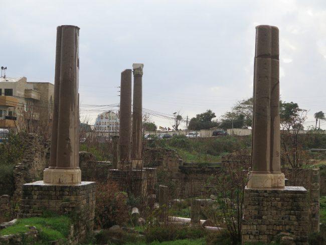 Sector arqueológico II en Tiro