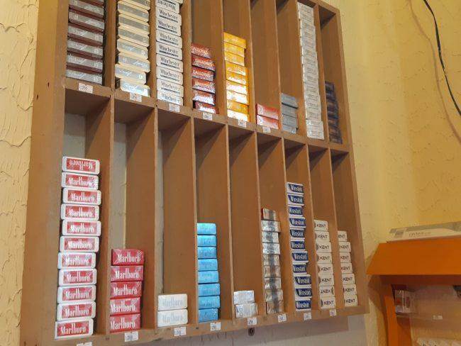 Marcas de tabaco que se pueden comprar en Líbano