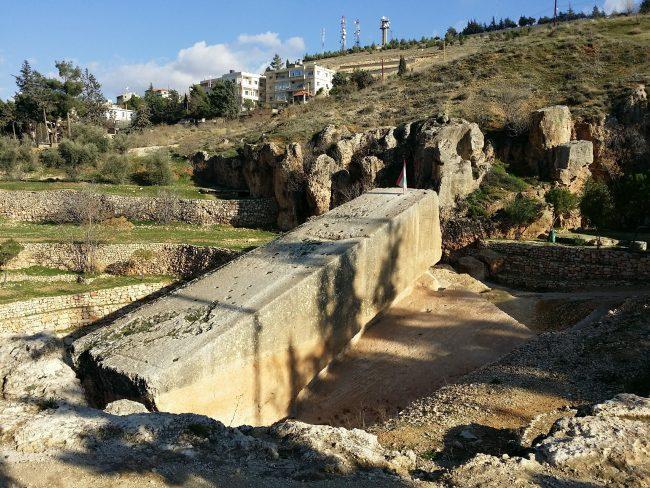Los megalitos de Baalbek