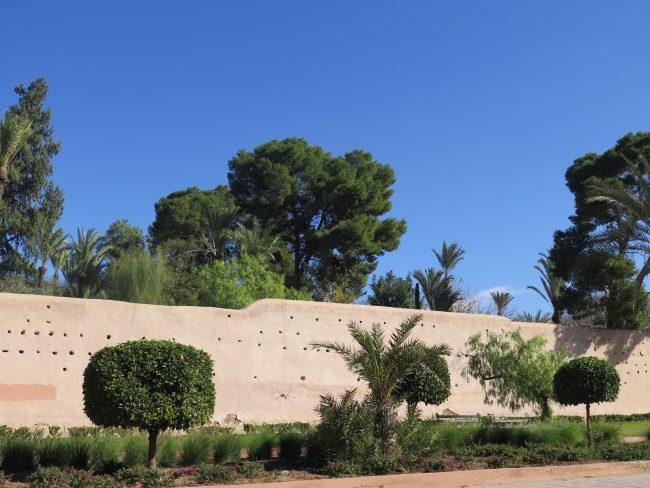 Información sobre la Muralla de Marrakech