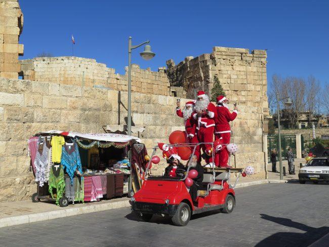 Navidad en las Ruinas de Baalbek