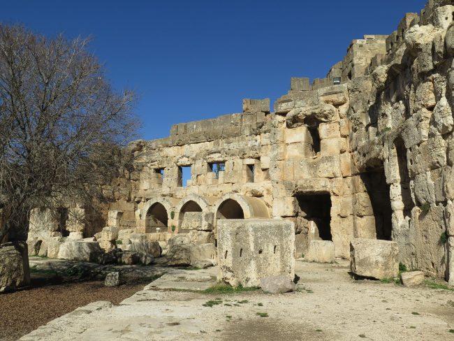 Peregrinos en los Templos Romanos