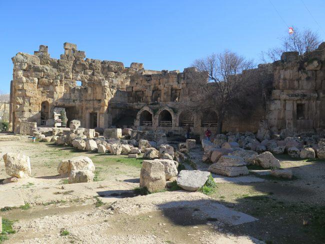 Visita a los Templos de Baalbek