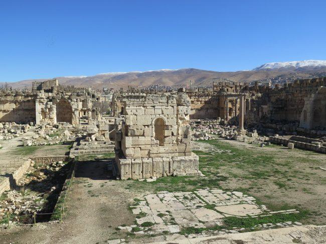 Baalbek, el mayor complejo de Templos Romanos de la Historia