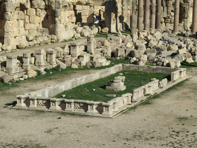 Templo de Júpiter en Baalbek