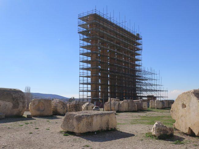 Las mayores columnas romanas del mundo