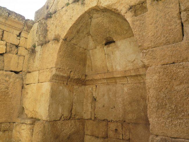 Las huellas del paso del islam por las ruinas de Baalbek