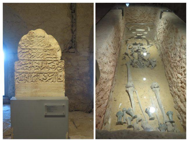Inscripción coránica en una lápida mameluca