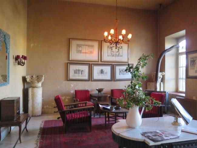 El histórico hotel de Baalbek
