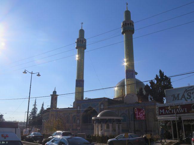 Mausoleo de la bisnieta de Mahoma en Baalbek
