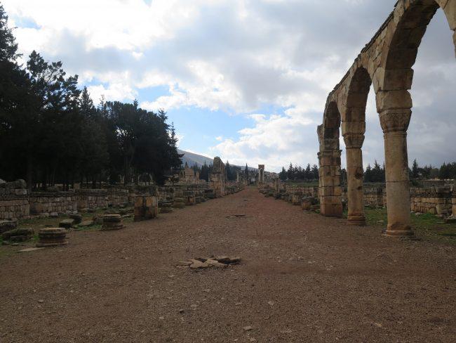 Las Ruinas más importantes de Líbano junto a Baalbek
