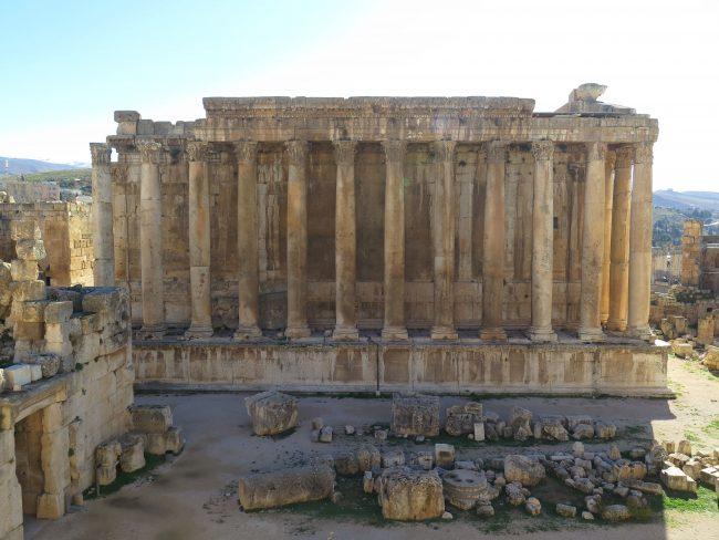 El Templo más bello de todos los de Baalbek