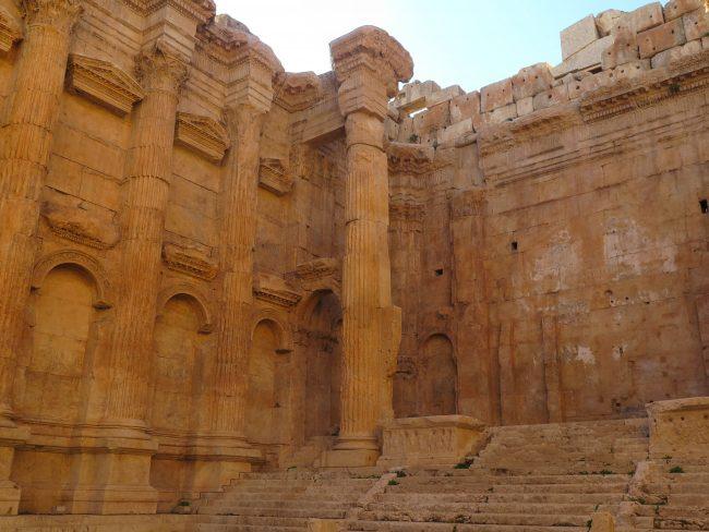 Rituales paganos en los Templos de Baalbek