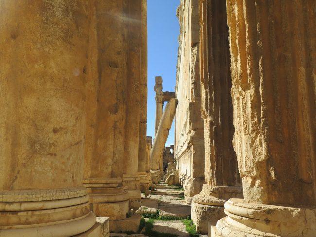 Ruínas Romanas de Oriente Medio