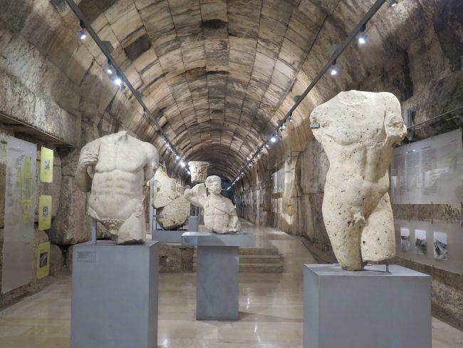 Esculturas romanas de Baalbek