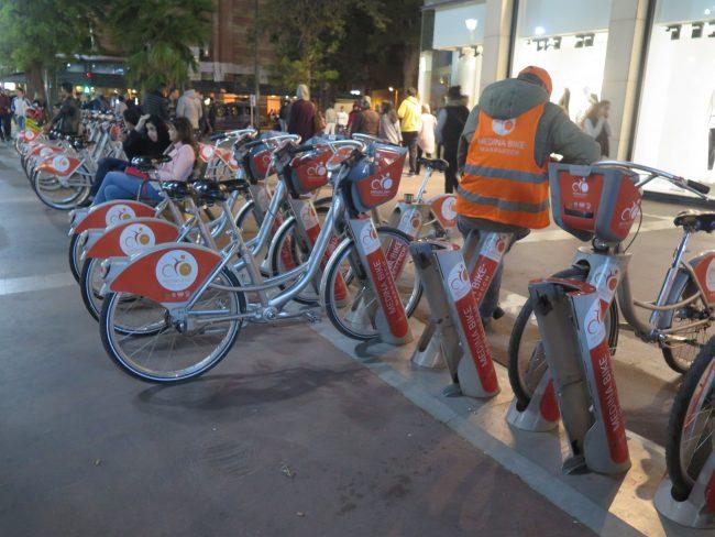 Alquilar bicicletas en Marrakech