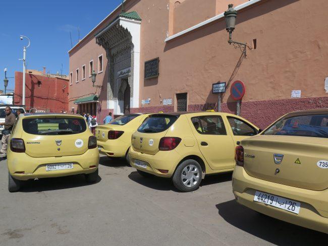 Precios de los taxis en Marrakech