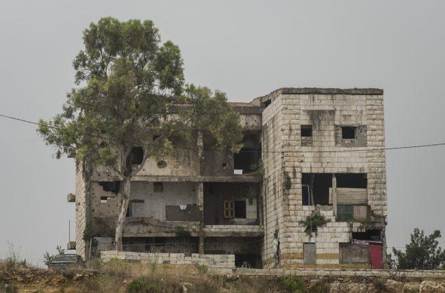 La destrucción de las guerras en Líbano