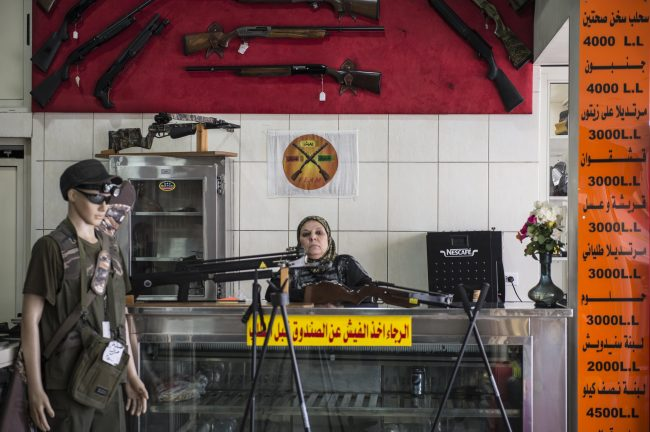 Las armas en Líbano